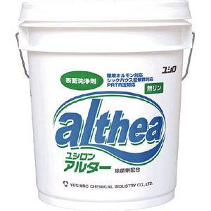 3120001421 ユシロ化学工業 パレット 土砂用洗浄剤 アルター 18L 洗剤・クリーナー