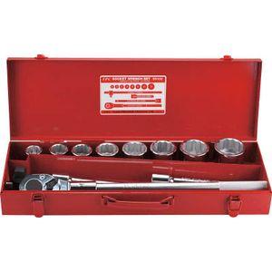 S-6108 フラッシュツール ソケットレンチセット 差込角19.0mm 12角 ソケットレンチセット