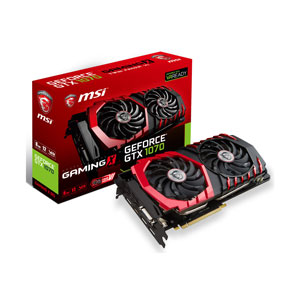 GTX 1070 GAMING X 8G MSI PCI-Express 3.0 x16対応 グラフィックスボードMSI GeForce GTX 1070 GAMING X 8G