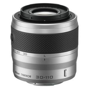 1NVR30-110SL ニコン 1 NIKKOR VR 30-110mm f/3.8-5.6(シルバー) ※ニコン1マウント用レンズ