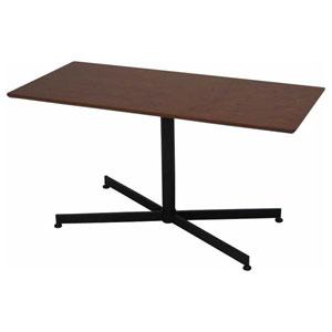JC-6270 不二貿易 ウチカフェテーブル トラヴィ(ダークブラウン) 92016