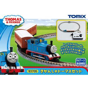 [鉄道模型]トミックス (Nゲージ) 93705 きかんしゃトーマスセット