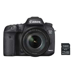 EOS7DMK2LKW-E1 キヤノン デジタル一眼レフカメラ「EOS 7D Mark II」EF-S18-135 IS USM レンズキット・Wi-FiアダプターW-E1付