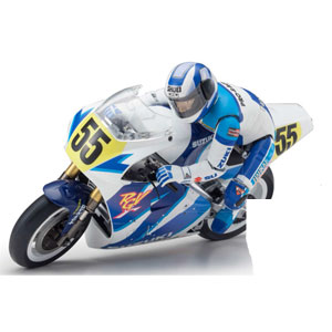 【再生産】1/8 電動バイク ハングオンレーサー シリーズ S.R.T. SUZUKI RGV-Γ 1992 組立キット【34931】 京商