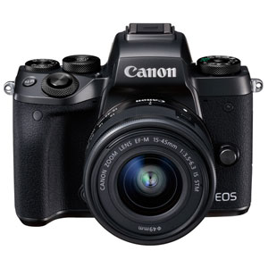 EOSM5-1545ISSTMLK キヤノン ミラーレスカメラ「EOS M5」EF-M15-45 IS STMレンズキット