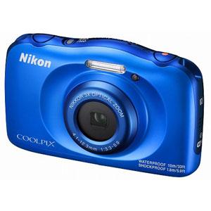W100BL ニコン デジタルカメラ「COOLPIX W100」(ブルー)