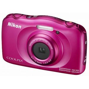 W100PK ニコン デジタルカメラ「COOLPIX W100」(ピンク)