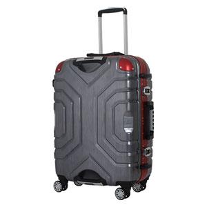 B5225T-67RD/BK シフレ 【メーカー直送のみ】スーツケース ハードフレーム 83L(レッド/ブラック) Grip Master(グリップマスター)