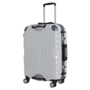 B5225T-58WH/BL シフレ 【メーカー直送のみ】スーツケース ハードフレーム 52L(ホワイト/ブルー) Grip Master(グリップマスター)
