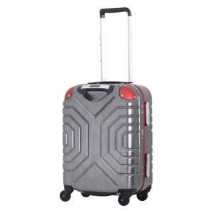 B5225T-44BK/RD シフレ 【メーカー直送のみ】スーツケース ハードフレーム 28L(ブラック/レッド) Grip Master(グリップマスター)
