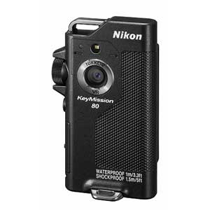 KM80BK ニコン アクションカメラ「KeyMission 80」(ブラック) ニコン キーミッション