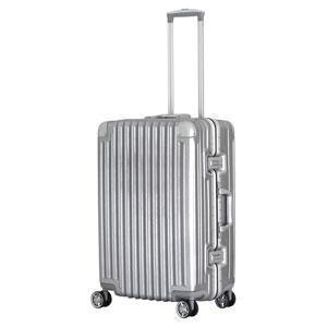 TRI1030-60 トライデント スーツケース ハードフレーム 66L(シルバー) TRIDENT(トライデント)