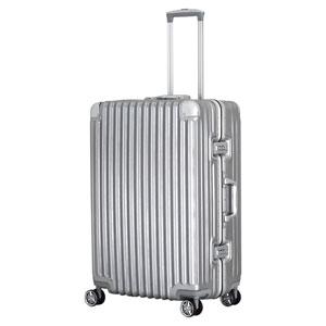 TRI1030-67 トライデント スーツケース ハードフレーム 92L(シルバー) TRIDENT(トライデント)