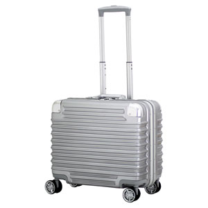 TRI1030-45 トライデント スーツケース ハードフレーム 28L(シルバー) TRIDENT(トライデント)