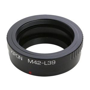 M42-L39 KIPON KIPON マウントアダプター M42-L39 (ボディ側:ライカL/レンズ側:M42)