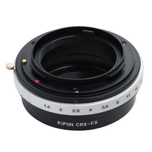 CRX-FX KIPON KIPON マウントアダプター CRX-FX (ボディ側:富士フイルムX/レンズ側:コンタレックス)