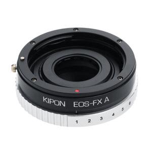 マウントアダプター A EOS-FX KIPON A EOS-FX (ボディ側:富士フイルムX/レンズ側:キヤノンEF) KIPON