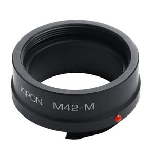 M42-M KIPON KIPON マウントアダプター M42-M (ボディ側:ライカM/レンズ側:M42)