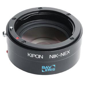 BAVEYES NIK-S/E 0.7X KIPON マウントアダプター BAVEYES NIK-S/E 0.7X (ボディ側:ソニーE/レンズ側:ニコンF)