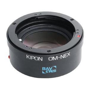 BAVEYES OM-S/E 0.7X KIPON マウントアダプター BAVEYES OM-S/E 0.7X (ボディ側:ソニーE/レンズ側:オリンパスOM)