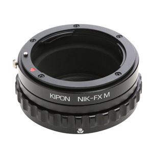 NIK-FX M KIPON KIPON マウントアダプター NIK-FX M (ボディ側:富士フイルムX/レンズ側:ニコンF)