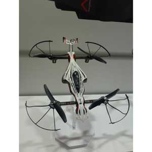 1/18 DRONE RACER G-ZERO ダイナミックホワイト レディセット【20571W】 京商