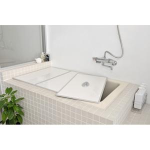 L14AGトッテツキアルミフタ 東プレ Ag取手付きアルミ組み合わせ風呂ふた(75×140cm用 3枚割)
