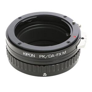 KIPON M PK/DA-FX M KIPON PK/DA-FX マウントアダプター (ボディ側:富士フイルムX/レンズ側:ペンタックスK【DAシリーズ対応】)