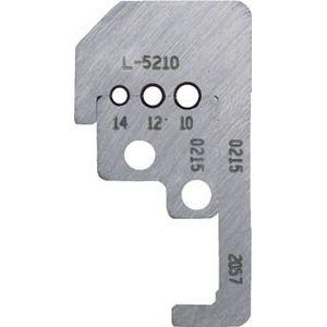 L-5210 東京アイデアル カスタムストリッパー替刃 45-180用 ワイヤストリッパー用オプション