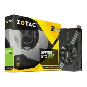 ZT-P10600A-10L ZOTAC PCI-Express 3.0 x16対応 グラフィックスボードZOTAC Geforce GTX 1060 6GB Single Fan