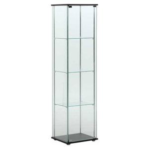 96047 不二貿易 ガラスコレクションケース 4段 TMG-G21