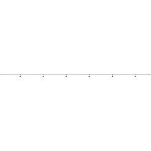EST1-20M-6L 長谷川製作所 分岐ケーブル ESTシリーズ 20m 防水ソケット×6 分岐ケーブル