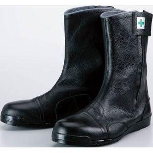 M208265 ノサックス 高所作業用安全靴 みやじま鳶 (ファスナー付)JIS規格品 26.5cm