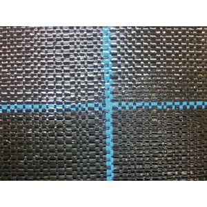 BB1515-0.5X100 日本ワイドクロス 防草シート 幅0.5m×長さ100m(ブラック) 園芸用品