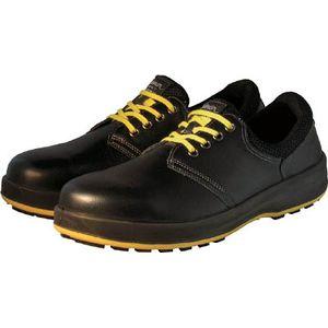 WS11BKSK-29.0 シモン 安全靴 短靴 黒 静電靴 29.0cm