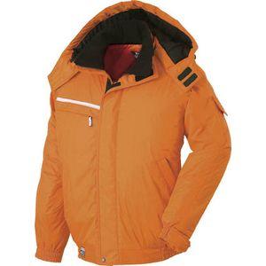 582-82-L ジーベック 防水防寒ブルゾン オレンジ L