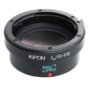 BAVEYES L/R-FX 0.7X KIPON マウントアダプター BAVEYES L/R-FX 0.7X (ボディ側:富士フイルムX/レンズ側:ライカR)