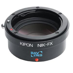 BAVEYES NIK-FX 0.7X KIPON マウントアダプター BAVEYES NIK-FX 0.7X (ボディ側:富士フイルムX/レンズ側:ニコンF)
