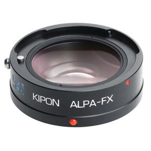 BAVEYES ALPA-FX 0.7X KIPON マウントアダプター BAVEYES ALPA-FX 0.7X (ボディ側:富士フイルムX/レンズ側:アルパ)