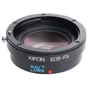 BAVEYES EOS-FX 0.7X KIPON マウントアダプター BAVEYES EOS-FX 0.7X (ボディ側:富士フイルムX/レンズ側:キヤノンEF)