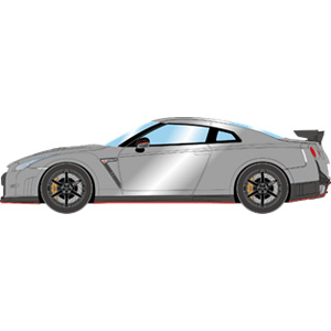 1 43 EM341 NISSAN GT-R 商い 2014 NISMO アルティメイトメタルシルバー メイクアップ WEB限定 EM341C