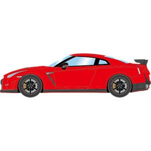 1 43 EM341 NISSAN ディスカウント ギフ_包装 GT-R バイブラントレッド NISMO メイクアップ 2014 EM341E