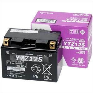 YTZ12S GSユアサ バイク用バッテリー 【電解液注入・充電済】【他商品との同時購入不可】
