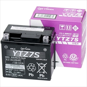 YTZ7S GSユアサ バイク用バッテリー 【電解液注入・充電済】【他商品との同時購入不可】
