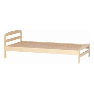 【エントリーでP5倍 8/9 1:59迄】50205 不二貿易 木製ベッド スアレス(ナチュラル) YSB-1062