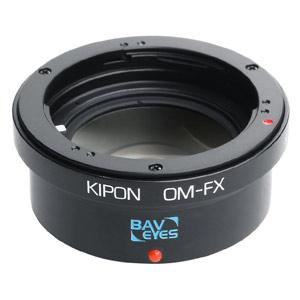 BAVEYES OM-FX 0.7X KIPON マウントアダプター BAVEYES OM-FX 0.7X (ボディ側:富士フイルムX/レンズ側:オリンパスOM)