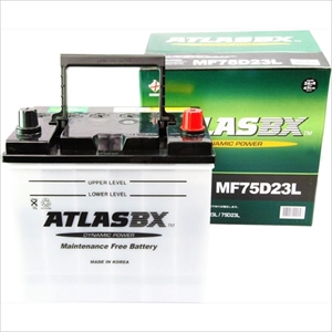 MF75D23L ATLAS BX 国産車用バッテリー【他商品との同時購入不可】 MF 75D23L DYNAMIC POWER