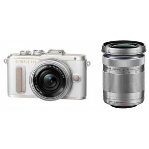E-PL8 WZKIT(ホワイト) オリンパス デジタル一眼カメラ「PEN Lite E-PL8」ダブルズームキット(ホワイト)