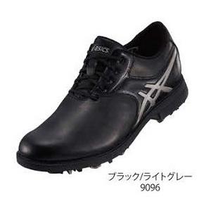 TGN918 9096BKLG24.5 アシックス メンズ・ソフトスパイク・ゴルフシューズ (ブラック/ライトグレー 24.5cm) GEL-ACE LEGENDMASTER 2