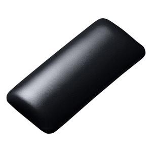 TOK-GELPNSBK 低価格 サンワサプライ マウス用リストレスト 新作入荷 レザー調素材 ブラック